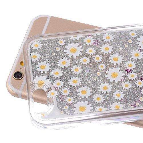 iPhone 7 Plus Bling Diamant Cœur Etui Housse Coque,iPhone 7 Plus Bling Coque,iPhone 7 Plus Transparente Coque,iPhone 7 Plus Plastique Etui Transparent Diamant Housse Coque Hard,iPhone 7 Plus Clear Coq Heart Dandelion 80
