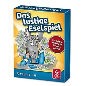 ASS Altenburger 22509586 - Das lustige Eselspiel, blau