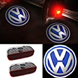 Lafurt 2 Stück LED Türlicht Logo Projektor Willkommen licht Emblem Auto Tür Licht
