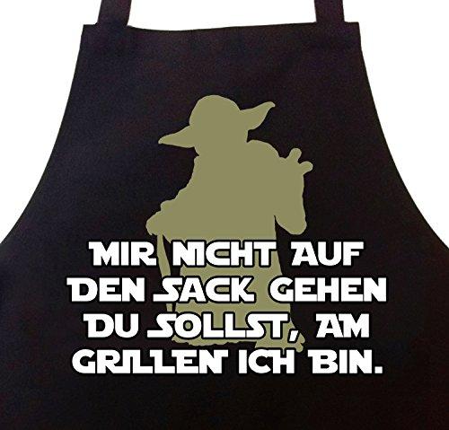 STAR WURST Grillschürze Kochschürze Mir Nicht auf den Sack Gehen Du sollst, am Grillen Ich Bin