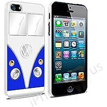 Volkswagen Camper Van–Carcasa para Apple iPhone 5y 5S se por iPhone R Us®, azul, Apple iPhone 6 6s