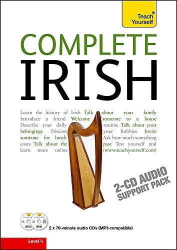 Complete Irish Beginner to Intermediate Book and Audio Course: Complete Irish Beginner to Intermediate Book and Audio Course Audio Support