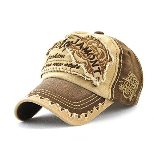 Gorra de béisbol de algodón - Ajustable KeepSa Baseball Hat para  Actividades al Aire Libre 52d59987677