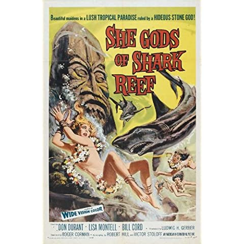 She Gods of Shark Reef Poster (27 x 40 Inches - 69cm x 102cm) (1958)