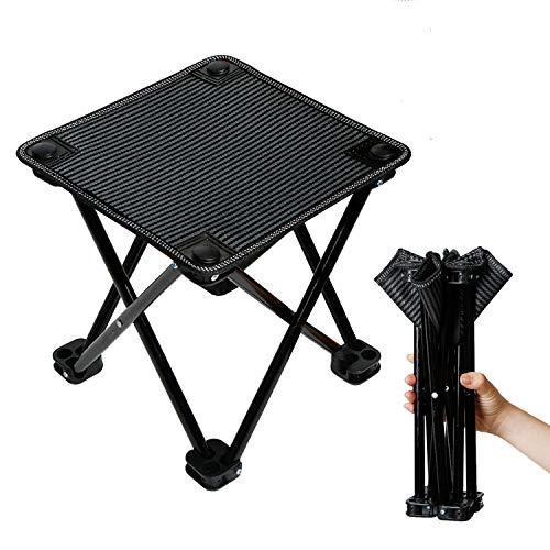 C-Oral Klapphocker Folding Chair Mini Portable Hocker klappstuhl für Camping Reise Wandern Garten Strand Oxford-Tuch mit Tragetasche