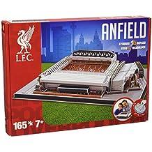 Giochi Preziosi 70037151 - Puzzle 3D Stadio Anfield Road Liverpool, 160 pz., 7+ anni
