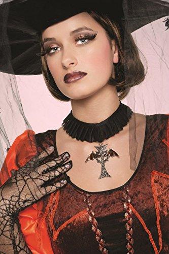Panelize Vampir Gothic Kreuzanhänger Schwarze Magie -
