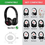 Beats by Dr. Dre Solo2, Solo 2.0 On-Ear Headphone Replacement Ear Pad / Ear Cushion / Ear Cups / Ear Cover / Earpads Repair Parts (Blue)