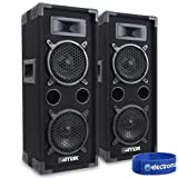 2x-MAX-Dual-6-Bedroom-Studio-House-Party-Disco-Speakers-DJ-Sound-Setup-1200W