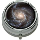 Spiral Galaxy - Hubble Space Pill Case Trinket Gift Box