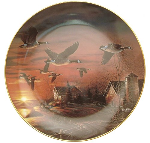 collector-plate-wild-things-sundown-oche-piastra-terry-redlin-hj110