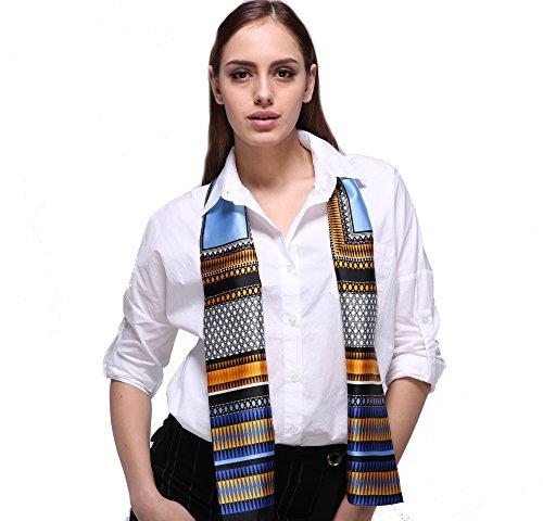 Damen Stilvoll Kontrastfarbe Schals Halstücher Kopftücher Skinny Scarf Handgelenk Band Choker Krawatten Twilly(Mehrfarbig) (Skinny Schal Silk)
