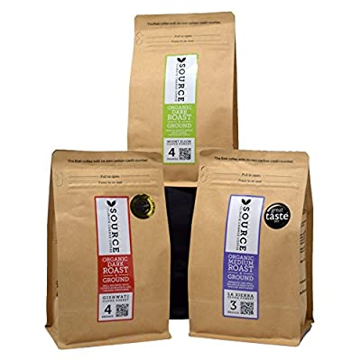 Discover Coffee - Source Climate Coffee - Ground/Filter Coffee Discovery Gift Set by Discover Coffee Ltd
