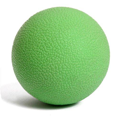 HENGSONG Fitness Massage Ball für Rücken, Gesäß und kleine schwer erreichbare Triggerpunkte (Grün)