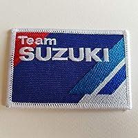BLUE HAWAI Ecusson Patches aufnaher Toppa termoadhesiva–Team Suzuki 9* 6cm