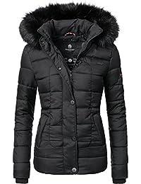 Marikoo Unique Veste d'hiver matelassée pour Dame 8 Couleurs XS-XL