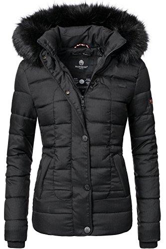 Marikoo Damen Winter Jacke Steppjacke Unique (Vegan Hergestellt) 8 Farben XS XL