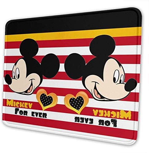 Mouse Pad - mouselet Forever Gaming Mouse Mat, Non-Slip Rubber Base Mousepad for Laptop, Computer & PC (Mat Gel Forever Cool)