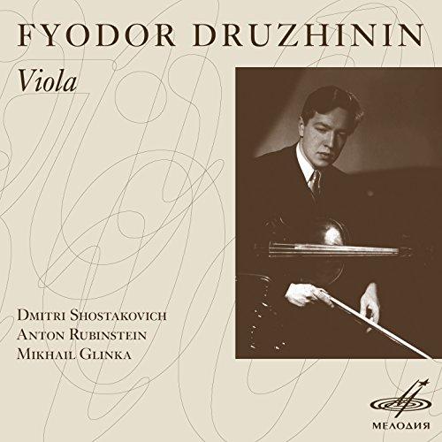 Glinka, Rubinstein & Shostakovich: Viola Sonatas