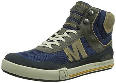 Merrell  RANT FINN MID, Baskets hautes homme - Bleu - Bleu, 45 EU (10.5 Homme UK) EU