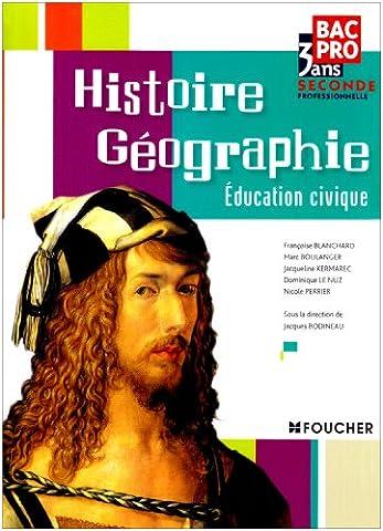 Histoire Géographie Education civique 2nd Bac