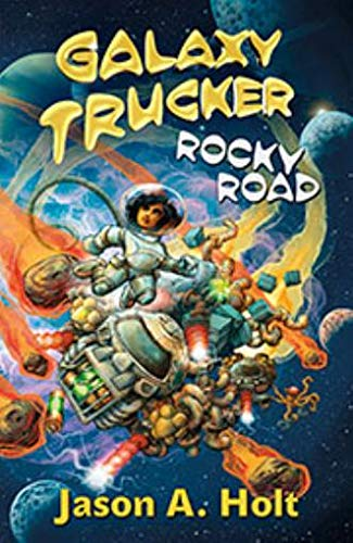 Flying Frog Productions CGEB0001 Galaxy Trucker: Rocky Road (Novela), Multicolor