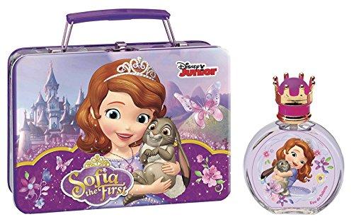 Air-Val Disney junior sofia die erste metallic glasflasche