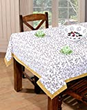 #10: BSB Trendz Printed 6 Seater Cotton Table Cover