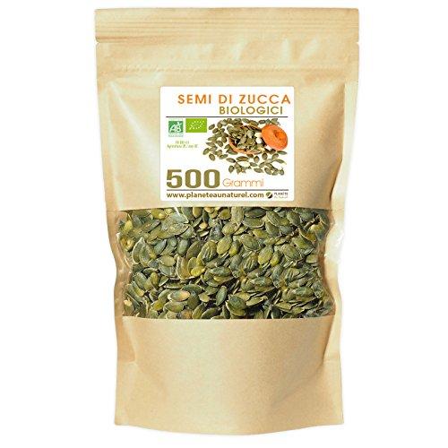 Semi di Zucca Biologici - Cucurbita pepo - 500