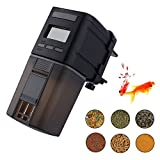 #5: MONOLED Fish Feeder, Automatic Fish Feeder, Auto Aquarium Food Dispenser Timer for Fish Tank (Batteries Included) (Mn206)