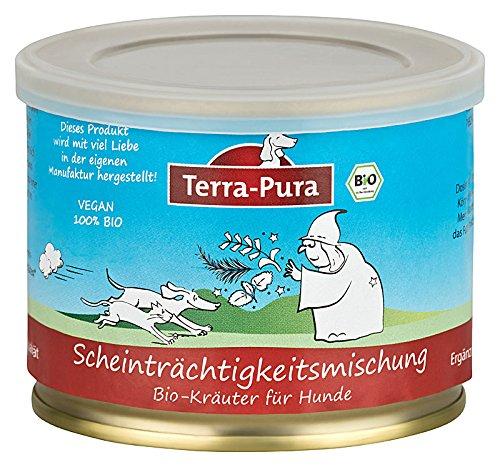 TERRA-PURA Tiernahrung Scheinträchtigkeitsmischung Bio-Kräutermischung für Hunde und Katzen, 60 g