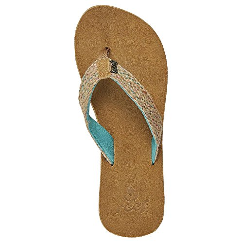 Sandali donna oceano Gypsyhope sandali Turchese (Foglia di tè)