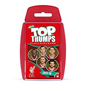 Liverpool FC 2017/18 Top Trumps Card Game by Winning Moves