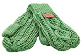 Aran Traditions -  Guanti - Donna verde Taglia unica