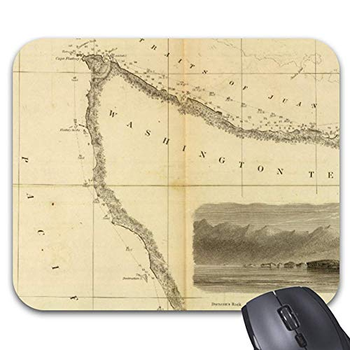 Admiralty Inlet (Gray'S Harbor Admiralty Inlet Mouse Pad Stylish Office Computer Accessory 9.25 x 7.75)