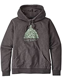 Patagonia W's Live Simply Summit Stones Mw Hoody Feather Grey