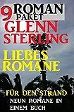 Roman Paket 9 Glenn Stirling Liebesromane für den Strand