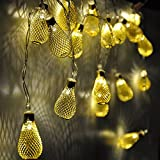 AtneP 16 Led Drop Metal String Lights Home Decoration Festival Decor Lights Diwali Christmas