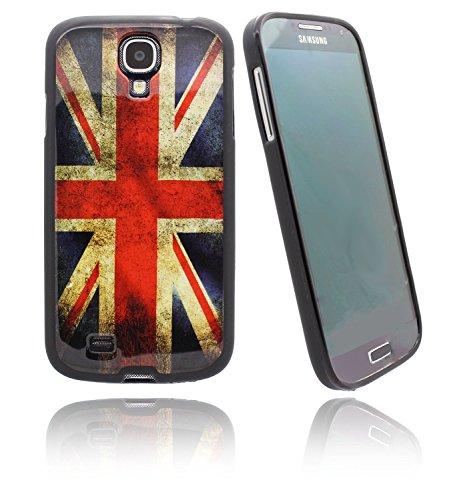 7 Lip Blackberry (NWNK13 UK Flagge Union Jack Vintage Retro Ultra Slim TPU Gel Schutzhülle mit mattem Finish aus weichem Gummi Bumper + Displayschutzfolie & Reinigungstuch Samsung Galaxy S4 / i9500)