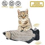 EKKONG Catnip Giocattoli per Gatti, Giocattoli Elettrici per Pesci,Catnip Giocattoli,Giocattolo interattivo Gatto,Simulazione Peluche di Pesce, Giocattoli per Gatto per Gatto Kitty (Type C)