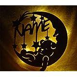 Schlummerlicht24 Led Lampe personalisiert Babygeschenk Sweet Dream Taufgeschenke Geschenke zur Geburt Kommunion Taufe Geschenk mit Namen individuell Junge Mädchen Jungs (Körperpflege)