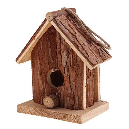 Fenteer Nisthaus Vogelnistkasten, Perfekt für Kohlmeisen Rotschwänzchen und Weitere Vogelarten