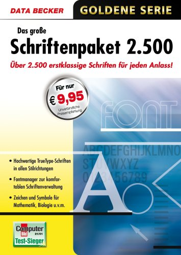 Das große Schriftenpaket 2500