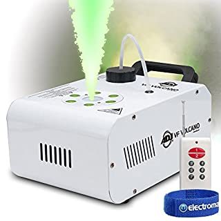 ADJ VF Volcano Vertical Fog Smoke Machine with LED Lights Remote|American DJ
