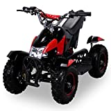 Mini Kinder ATV Cobra 49 cc Pocketquad 2-takt Quad (rot / schwarz)