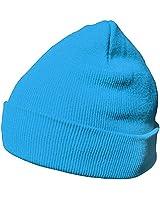 DonDon Berretto invernale morbido e caldo dal design moderno blu chiaro