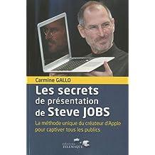 Les secrets de présentations de Steve Jobs