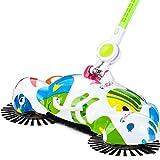 Clode® Hand Push Sweeper Broom Neue Ankunfts 360 drehende Hauptgebrauch magische manuelle Teleskop Fußboden Staub Kehrmaschine (Multicolor)