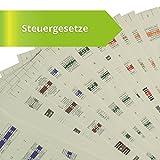 Steinfacher-Griffregister für STEUERGESETZE mit Abdruck von amtlichen Überschriften, 653 bedruckte Aufkleber + 113 Aufkleber zur Selbstbeschriftung (aktueller Rechtsstand), gleichermaßen für Beck und NWB, nur 5ct pro Aufkleber