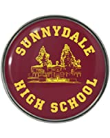 Sunnydale High School Metal Pin Badge